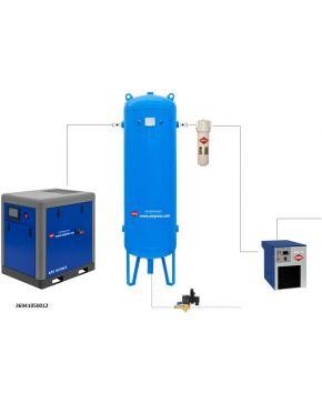Compressed air treatment set APS 10 X IVR / 300 / 9