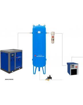 Compressed air treatment set APS 15 X IVR / 500 / 18