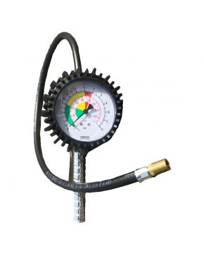 Tire inflator with long airhose 75 cm Ø 7,5 cm