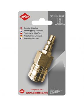 Coupling adapter type Orion/Euro