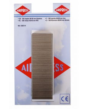 Staples type 90 40 mm 500 pieces