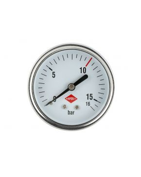 "Pressure gauge 1/4"" 16 bar rear connection 63 mm"