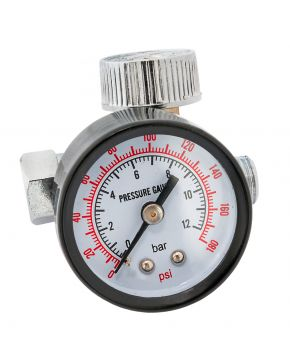 "Pressure switch with Pressure gauge 1/4"" 10 bar"