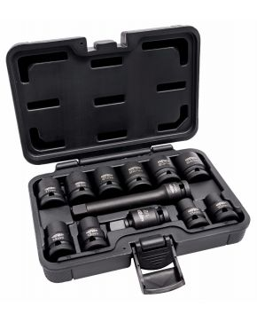 "Impact nut socket set 1/2"" 12-piece"