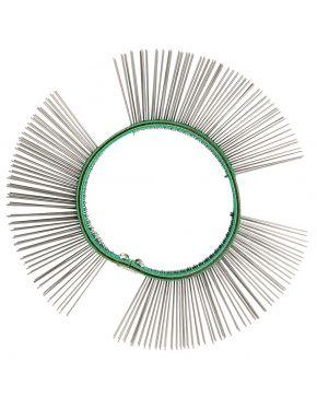 Fine iron wire brush 11 mm