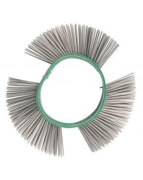 Fine iron wire brush 23 mm