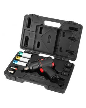 """Pneumatic impact wrench 786 Nm 1/2"""" 113l/min with 6 sockets"""