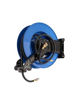 Air hose wall reel 20 m 9.5 x 12 mm PU metal frame