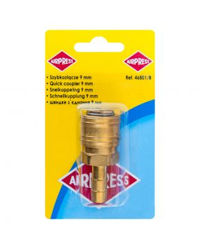 Quick coupling Euro 9 mm