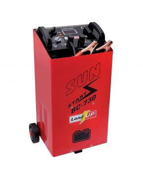 Battery charger BC 730 with startup system
