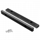 """Jaws 250 mm replacement set with bolts for Swivel Vise 10"""" 250 x 265 mm"""