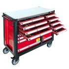 Tools trolley 447 tools 16 drawers