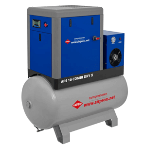 Screw compressor APS 10 Combi Dry X